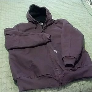 Plum Carhartt jacket